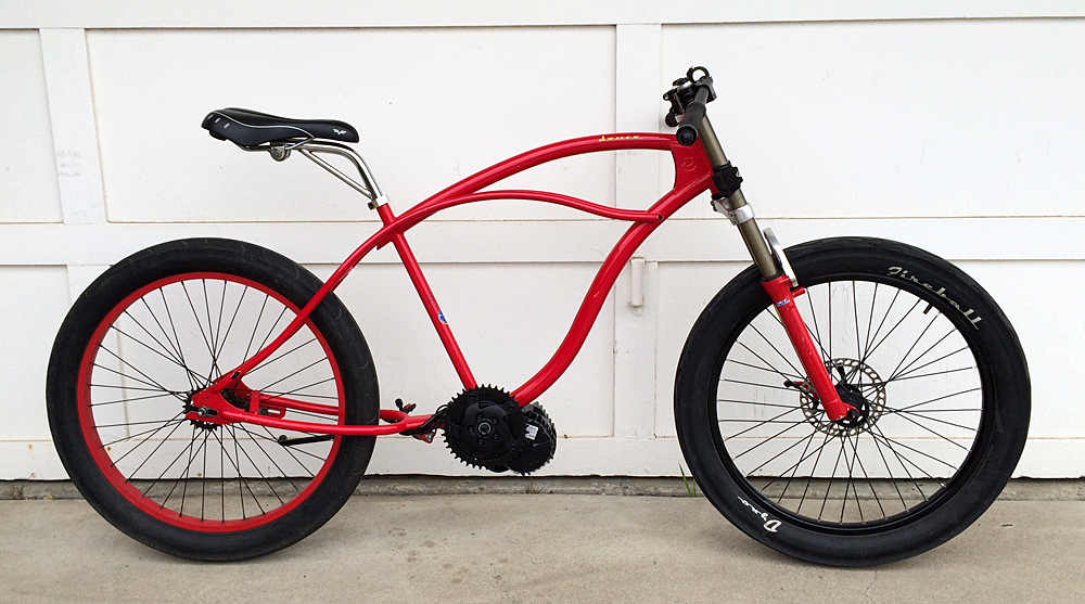 Cortina & Dyno Electric bicycles for sale BBSHD 52V Mid