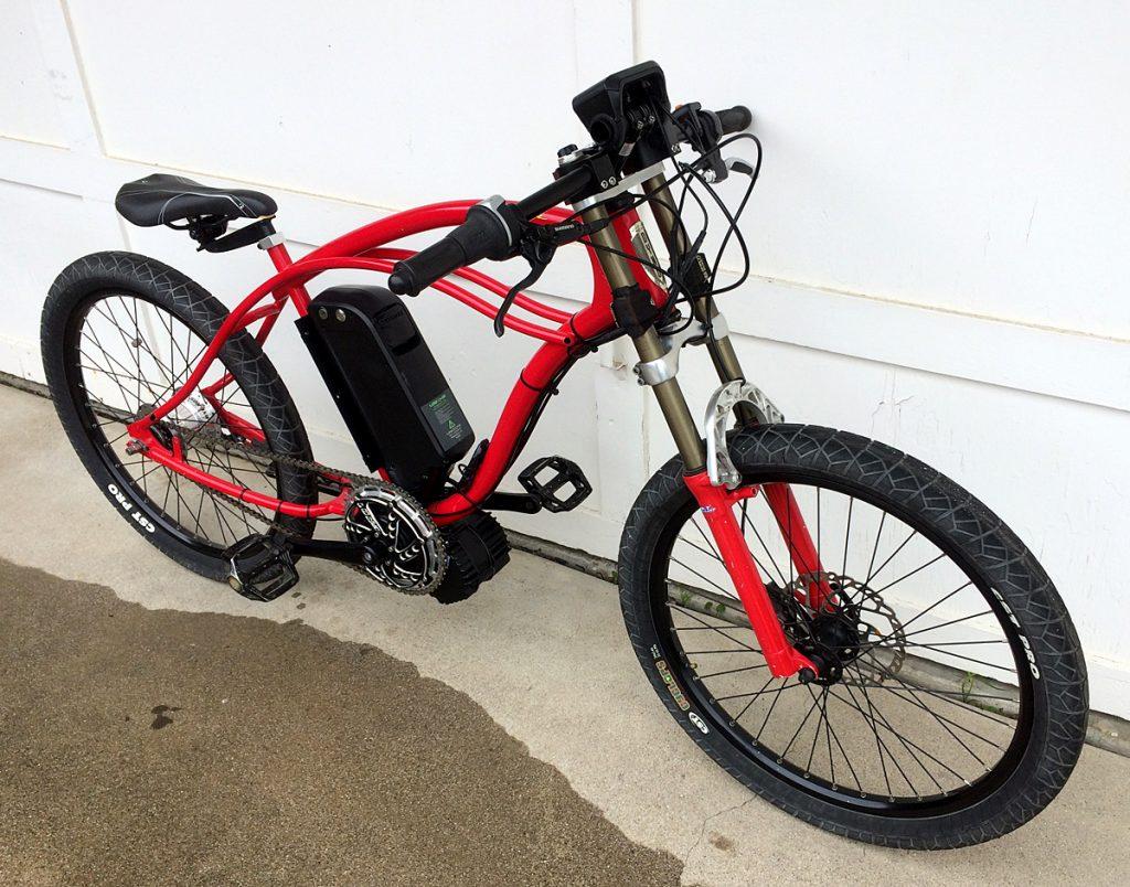 Dyno Mid-drive Electric Bicycle BBSHD BBS02 TSDZ2 RX-RK5 RXL-RD5